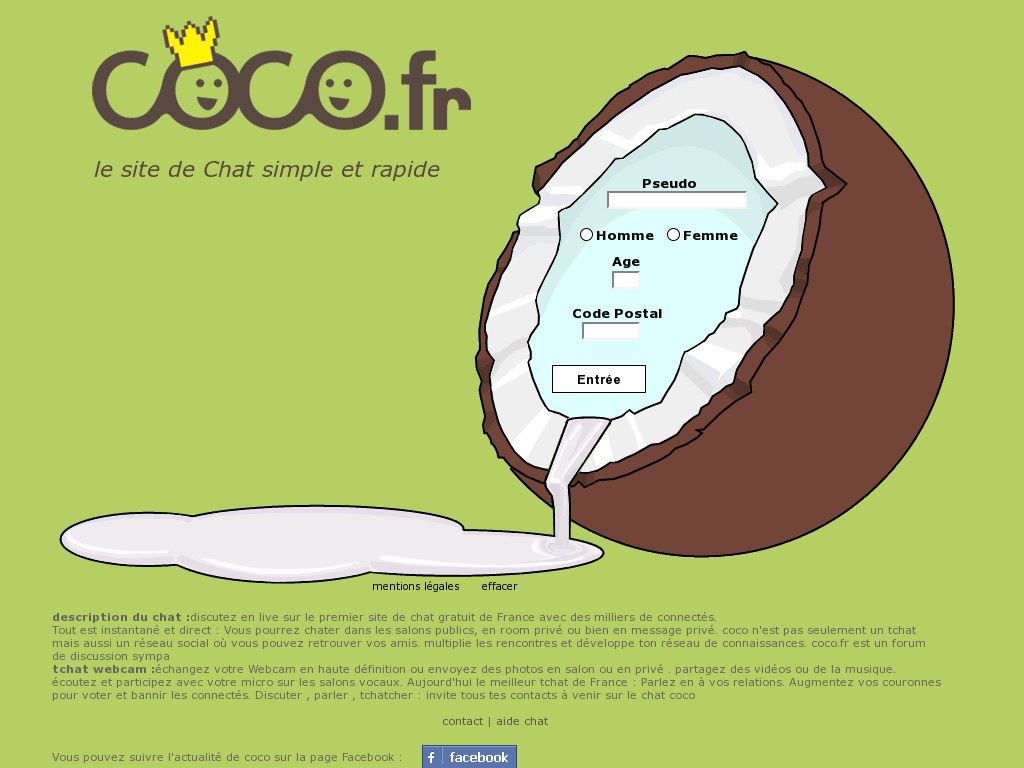 Coco rencontre gratuit