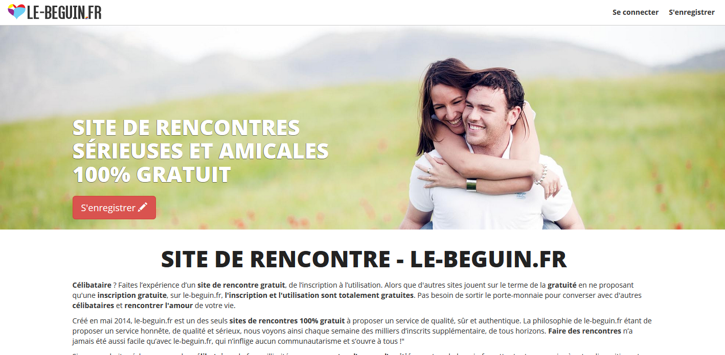 Le beguin site de rencontre