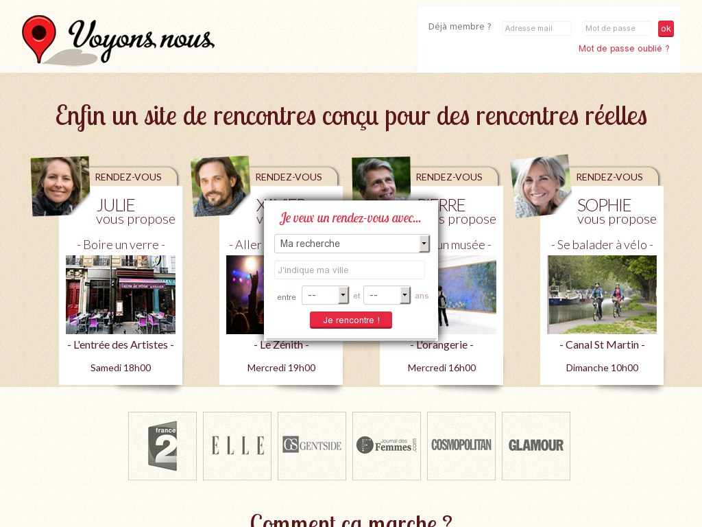 Site re rencontre avis