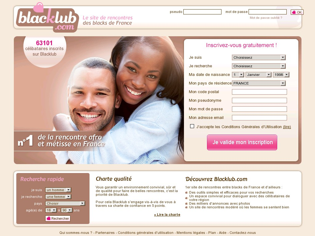 Sites rencontres black