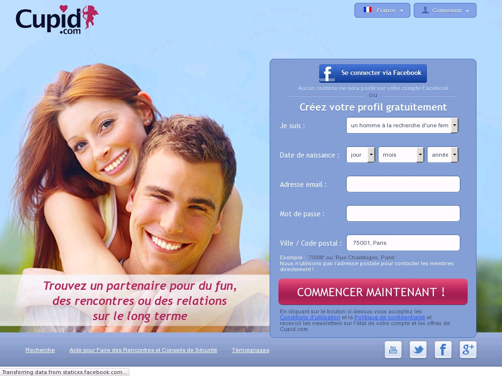 Sites de rencontres sur internet