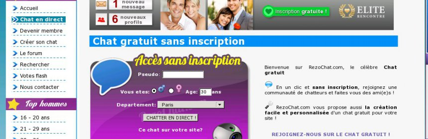 Site de rencontre sans inscription pour adolescent