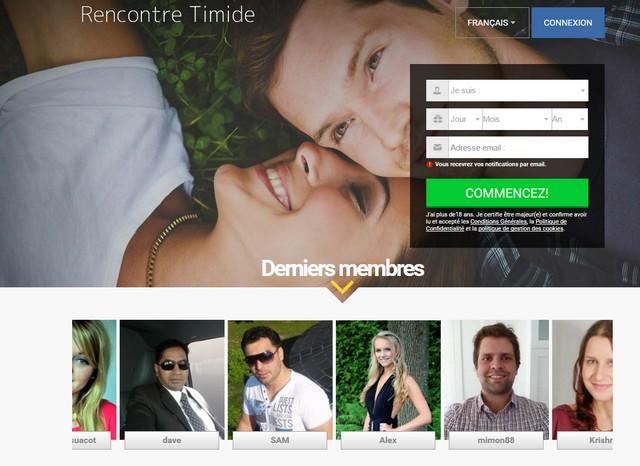 Rencontre-Timide