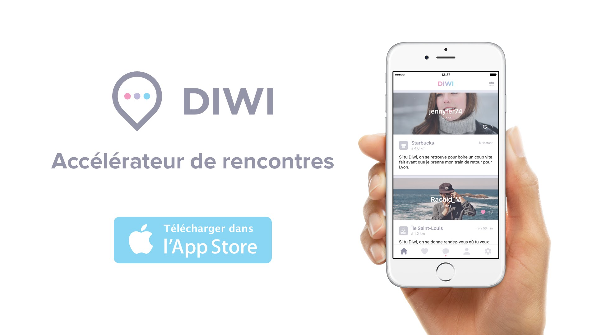 Nouvelle application de rencontre