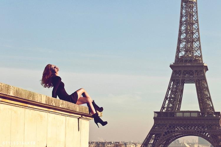 il est facile de pêcho les parisiennes en été avec plan drague