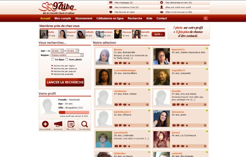 97tibo - apercu interface membre