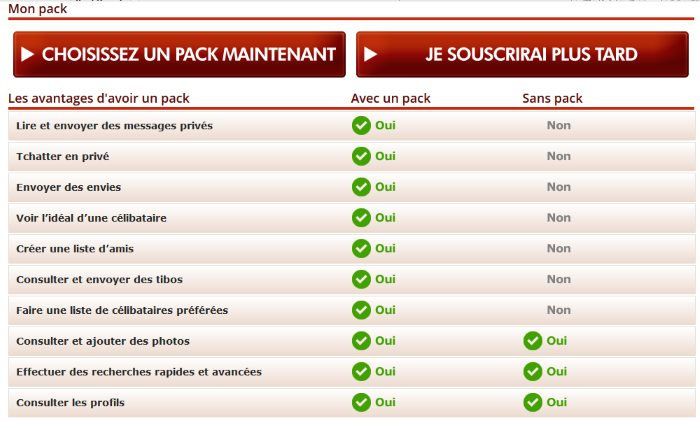 Pack Premium Avantages - 97tibo