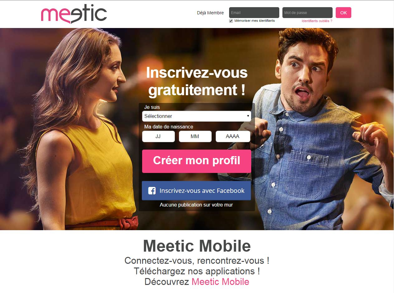 Avis site rencontre meetic