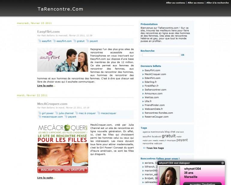 site de rencontre prix blog site de rencontre