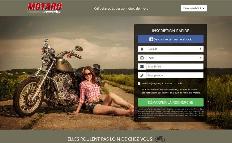 rencontre-motard.com - Avis, Test, Evaluation, Présentation