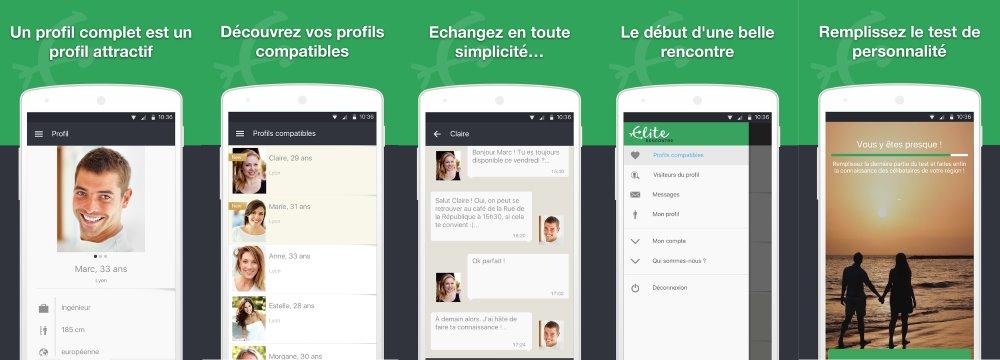 App Elite Rencontre - Test, Avis et Critique