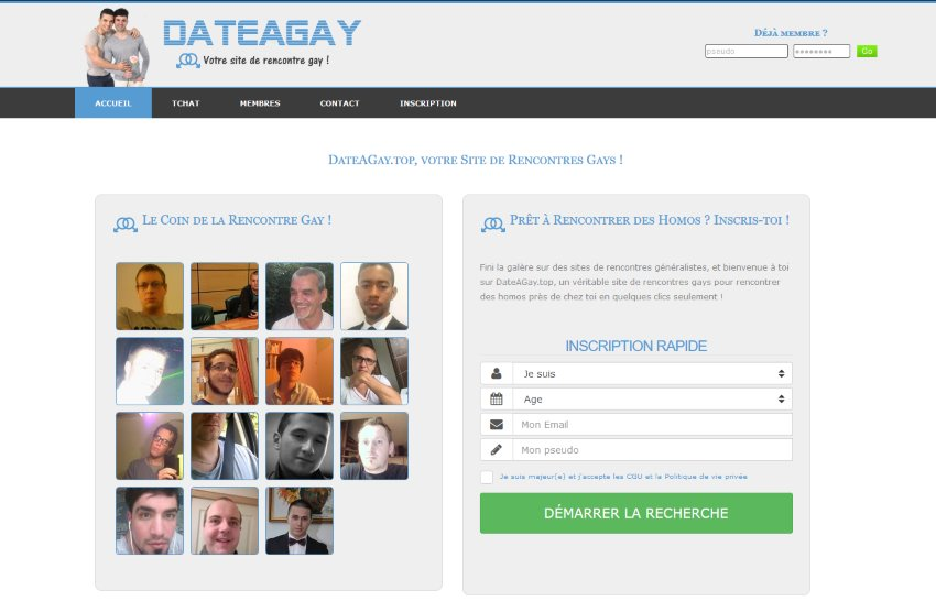 Dateagay.top - Test & Avis