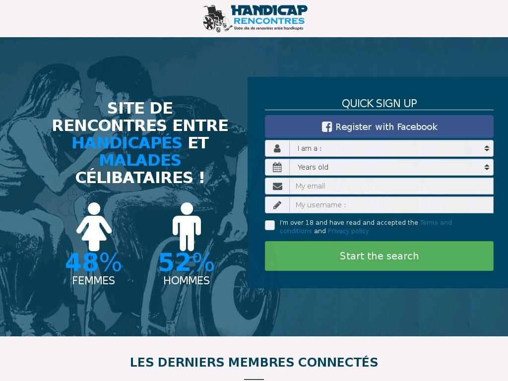 Rencontre dhandicapés avec Idylive : site de rencontres dédié aux personnes.