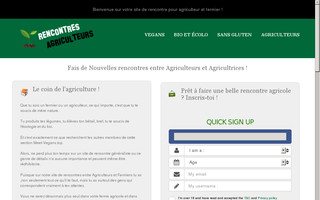 site rencontre agriculture